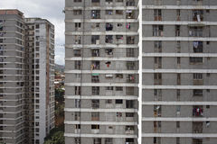 Orizzonte e costruzioni di Caracas Fotografie Stock