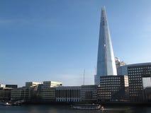 Orizzonte ed il Tamigi di Londra fotografie stock libere da diritti