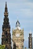Orizzonte Edinburgh dell'estremo orientale fotografia stock libera da diritti