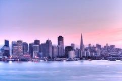 Orizzonte .HDR di San Francisco Fotografia Stock Libera da Diritti