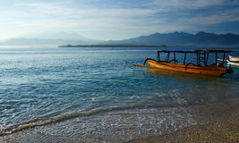 Orizzonte indonesiano Fotografia Stock
