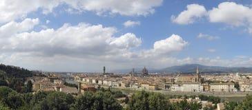 Orizzonte Italia di Firenze fotografie stock libere da diritti
