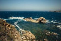Orizzonte l'Oceano Atlantico Immagini Stock