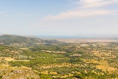 Orizzonte Mallorca Fotografia Stock Libera da Diritti