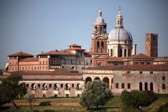 Orizzonte medioevale, Mantua, Italia Immagini Stock
