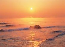 Orizzonte nell'ambito di Sun Fotografia Stock Libera da Diritti