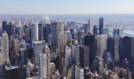 Orizzonte NYC di Manhattan Fotografia Stock Libera da Diritti