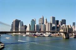 Orizzonte NYC di Manhattan fotografia stock