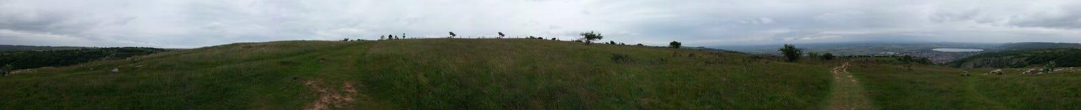 Orizzonte panoramico Immagini Stock