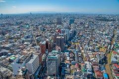 Orizzonte in Setagaya-ku, Tokyo, Giappone Fotografia Stock Libera da Diritti
