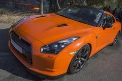 Orizzonte Sportscar GT-R dei Nissan Immagini Stock Libere da Diritti