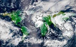orkaan royalty-vrije stock afbeelding