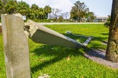 Orkaan Irma Damage Stock Foto's
