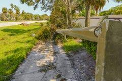 Orkaan Irma Damage Royalty-vrije Stock Afbeeldingen