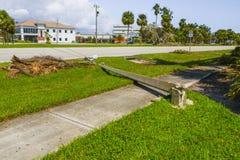 Orkaan Irma Damage Stock Fotografie