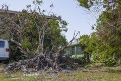 Orkaan Irma Damage Stock Afbeeldingen