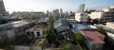 Orkaan Maria Damage in Puerto Rico royalty-vrije stock fotografie