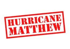 Orkaan Matthew vector illustratie