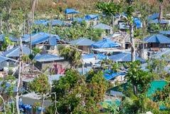 Orkaan Matthew Relief Work Stock Afbeeldingen