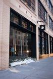 Orkaan Zandig in de Stad van New York Royalty-vrije Stock Fotografie