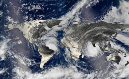 orkan Royaltyfria Bilder