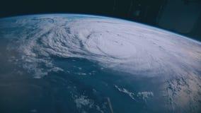 Orkan Harvey timmar, innan framställning av landfall lager videofilmer