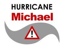 Orkan Michael arkivbilder