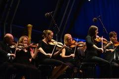 orkester Fotografering för Bildbyråer