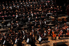 orkester för florence italy maggiomusicale Arkivfoton