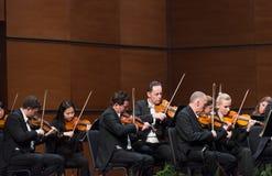 Orkester för Wien radiosymfoni arkivbild
