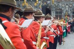 Orkester i Bruges arkivfoton