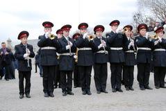 Orkestermusiker - trumpetare Royaltyfri Fotografi