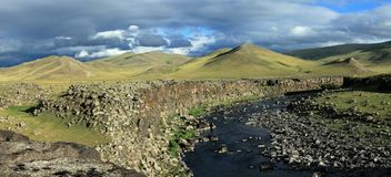 The Orkhon Valley Mongolia Royalty Free Stock Images