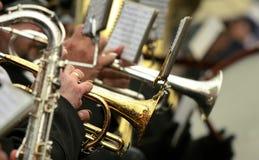 orkiestra Fotografia Stock