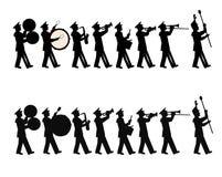 Orkiestra marsszowa obraz stock