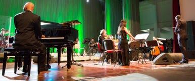 Orkiestra obywatel przylądek Verde zdjęcia royalty free