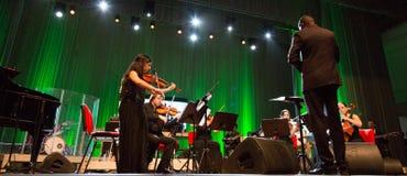 Orkiestra obywatel przylądek Verde obraz stock