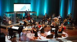 Orkiestra obywatel przylądek Verde obrazy stock
