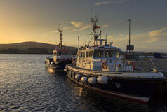 Orkney harbour Stock Images
