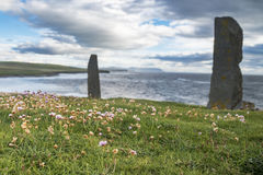 Orkney islands panorama Royalty Free Stock Photography