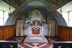 Orkney italian church. A church built by italian captives in orkney. Ww2 Stock Images