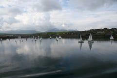 Orkney regatta. Regatta race in acotland Stock Photo