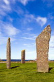 orkney stenness Arkivbild
