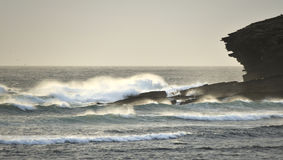 Orkney surf, Marwick head RSPB Royalty Free Stock Photos