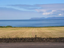 Orkney View. A view of one of the Orkney Islands, Hoy, from mainland Scotland, Thurso Royalty Free Stock Photos