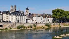 Orléans, miasteczko Francja, dokąd Loire rzeka płynie zbiory