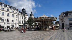 Orléans is een mooie stad in Frankrijk stock foto's