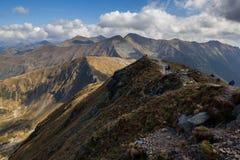 Orla Perc en las monta?as de Tatra fotos de archivo