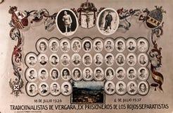 Orla Vergara karliści spanish cywilna wojna obrazy royalty free