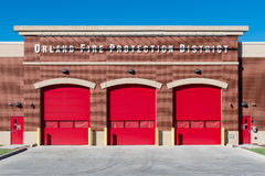 Orland Fire Station Stock Photos